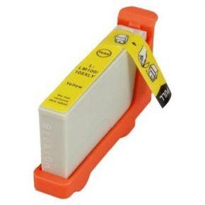Cartouche d'encre Jaune Compatible Lexmark 100XL 105XL 108XL Haut Rendement