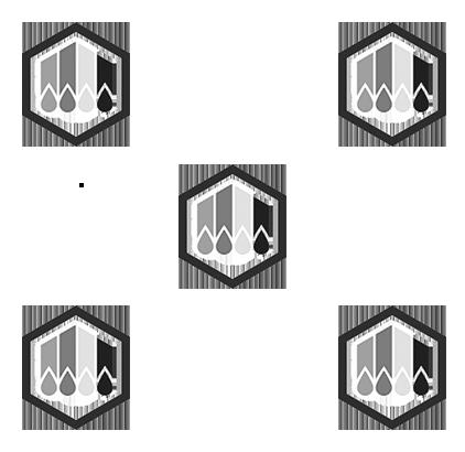 Encre Solide Noir Compatible Xerox 108R00929 pour imprimante ColorQube 8570 (Ensemble de 2 cartouches)