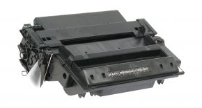 Cartouche Toner Laser Noir Réusinée Hewlett Packard Q7551X (HP 51X) Haut Rendement pour Imprimante LaserJet Séries P3005, M3027 & M3035