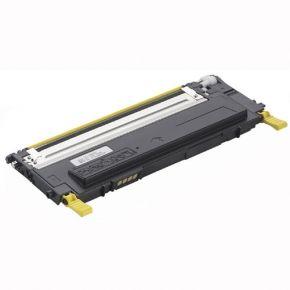 Cartouche Toner Laser Jaune Compatible pour Imprimante 1230c, 1235c