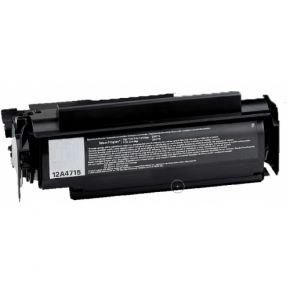 Cartouche Toner Laser Noir Compatible Lexmark 12A4715 Haut Rendement
