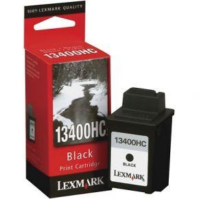 Cartouche d'encre Noir d'origine OEM Lexmark 13400HC