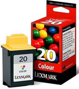 Cartouche d'encre Couleur d'origine OEM Lexmark 15M0120 (#20)