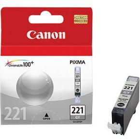 Cartouche d'encre d'origine OEM Canon 2950B001 (CLI221) Gray