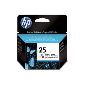 Cartouche d'encre Couleur d'origine OEM Hewlett Packard 51625A (HP 25) Tricolorecolore-