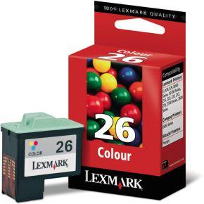 Cartouche d'encre Couleur d'origine OEM Lexmark 10N0026 (#26)