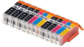 Ensemble de 12 Cartouches d'encre Compatible Canon PGI-270XL & CLI-271XL Haut Rendement