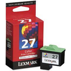 Cartouche d'encre Couleur d'origine OEM Lexmark 10N0227 (#27)