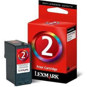 Cartouche d'encre Couleur OEM Lexmark 18C0190 (#2)