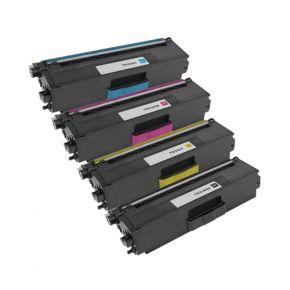 Ensemble de 4 Cartouches Laser Toner Compatible Brother TN331 / TN336 Haut Rendement