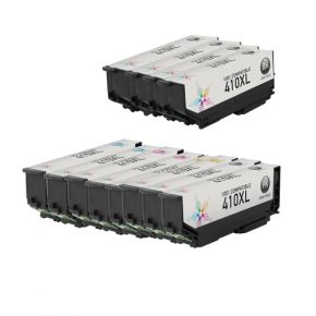 Ensemble de 11 Cartouches d'encre Compatible Epson 410XL Haut Rendement