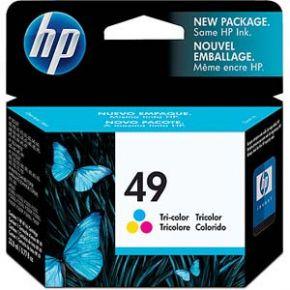 Cartouche d'encre Couleur d'origine OEM Hewlett Packard 51649A (HP 49) Tricolore