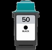Cartouche d'encre Noir Réusinée Lexmark 17G0050 (#50)