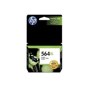 Cartouche d'encre Noir Photo d'origine OEM Vivera Hewlett Packard CB322WN (HP 564XL) Haut Rendement