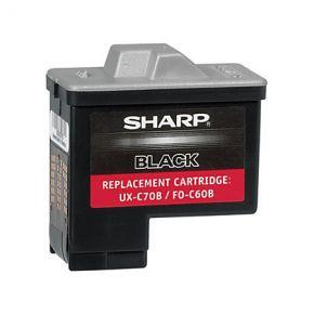 Cartouche d'encre Noir Réusinée Sharp UX-C70B