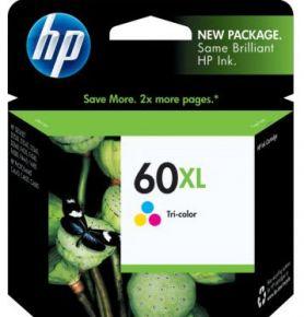 Cartouche d'encre Couleur d'origine OEM Vivera Hewlett Packard CC644WN (HP 60XL) Haut Rendement