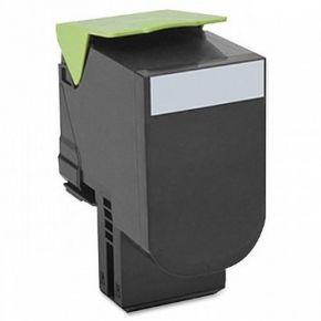 Cartouche Toner Laser réusinée  LEXMARK (80C1HK0 ) 801HK - Haut Rendement Noir