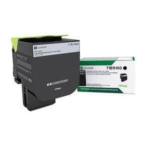 Cartouche Toner Laser Originale LEXMARK 71B1HK0 - Haut Rendement Noir