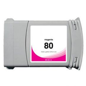 Cartouche d'encre Magenta Compatible Hewlett Packard C4847A (HP 80 pour Imprimante DesignJet 1050/1055 )