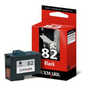 Cartouche d'encre Noir d'origine OEM Lexmark 18L0032 (#82)