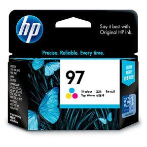 Cartouche d'encre Couleur d'origine OEM Hewlett Packard C9363WN (HP 97) Tricolore