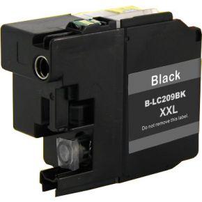 Cartouche encre compatible BROTHER LC209 BK - Extra Haut Rendement - Noir