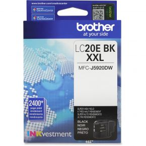 Cartouche d'origine Brother LC20EXXL BK Extra Haut Rendement