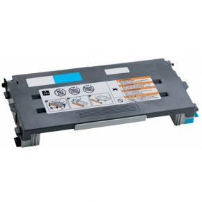 Cartouche Toner Laser Cyan Compatible Lexmark C500H2CG Haut Rendement pour Imprimante C500/X500