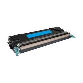 Cartouche Toner Laser Cyan Compatible Lexmark C5240CH Haut Rendement pour Imprimante C524