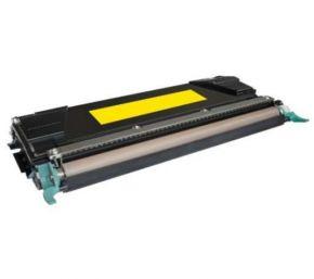 Cartouche Toner Laser Jaune Compatible Lexmark C5240YH Haut Rendement pour Imprimante C524