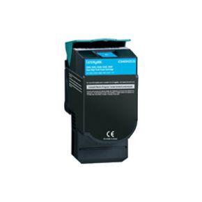 Cartouche Toner Laser réusinée  LEXMARK C544X2CG - Extra Haut Rendement Cyan