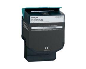 Cartouche Toner Laser réusinée  LEXMARK C540H2KG - Haut Rendement Noir