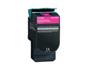 Cartouche Toner Laser réusinée  LEXMARK C544X2MG - Extra Haut Rendement Magenta