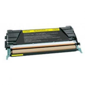Cartouche Toner Laser Jaune Compatible Lexmark C734A1YG
