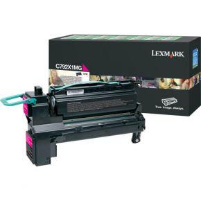 Cartouche Toner Laser Originale LEXMARK C792X1MG - Extra Haut Rendement Magenta
