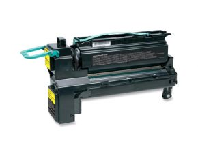 Cartouche Toner Laser réusinée  LEXMARK C792X1YG - Extra Haut Rendement Jaune