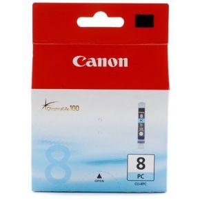 Cartouche d'encre Cyan Photo d'origine OEM Canon CLI8PC