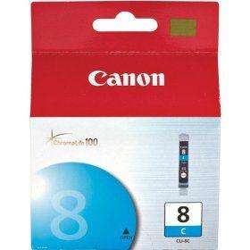 Cartouche d'encre Cyan d'origine OEM Canon CLI8C