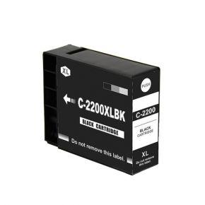 Cartouche d'encre Noir Compatible Canon PGI-2200XL 9255B001 Haut Rendement
