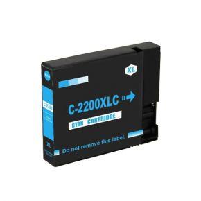 Cartouche d'encre Cyan Compatible Canon PGI-2200XL 9268B001 Haut Rendement