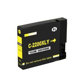 Cartouche d'encre Jaune Compatible Canon PGI-2200XL 9270B001 Haut Rendement