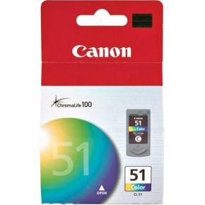Cartouche d'encre Couleur d'origine OEM Canon CL51 Haut Rendement