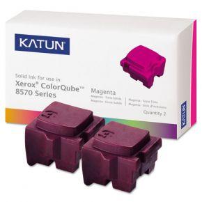 Encre Solide Magenta Compatible Xerox 108R00927 pour imprimante ColorQube 8570 (Ensemble de 2 cartouches)