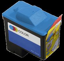 Cartouche d'encre Couleur Réusinée pour Imprimante Dell T0530
