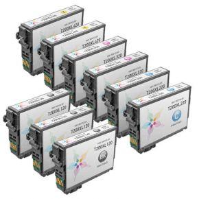 Ensemble de 9 Cartouches d'encre Compatible Epson T200XL  Haut Rendement