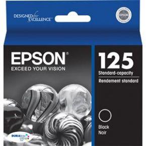 Cartouche d'encre Noir d'origine OEM Epson T125120 (T1251) Capacité Standard