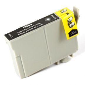 Cartouche d'encre Noir Compatible Réusinée Epson T098120 (T0981) Haut Rendement pour Imprimante Artisan 700, 800