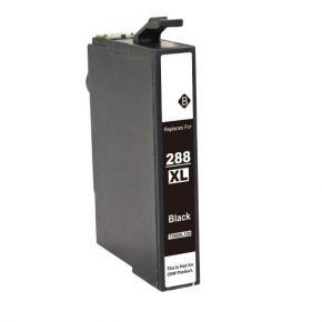 Cartouche d'encre Noir Compatible Epson 288 XL (T288XL120) Haut Rendement