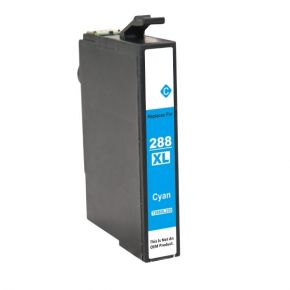 Cartouche d'encre Cyan Compatible Epson 288 XL (T288XL220) Haut Rendement
