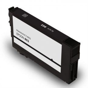 Cartouche d'encre Noir Réusinée Epson 802 (T802120-s)